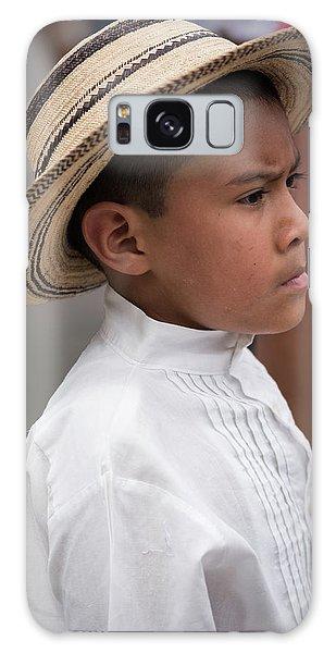 Panamanian Boy Galaxy Case