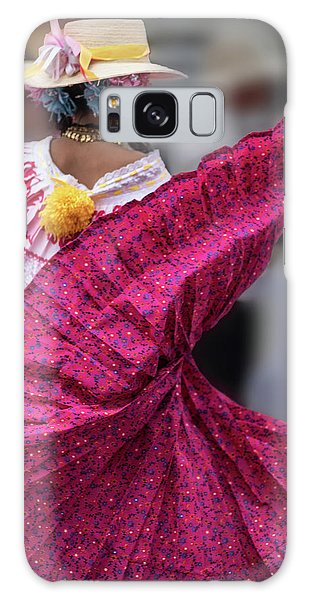Panamanian Dancer 2 Galaxy Case