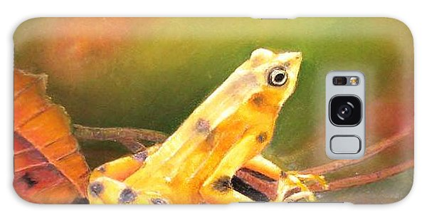Panamenian Golden Frog Galaxy Case by Ceci Watson