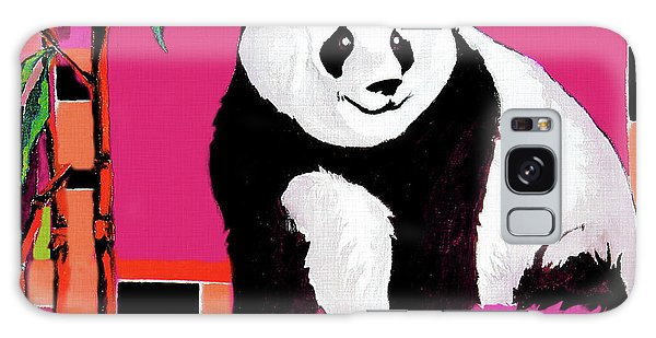 Panda Abstrack Color Vision  Galaxy Case