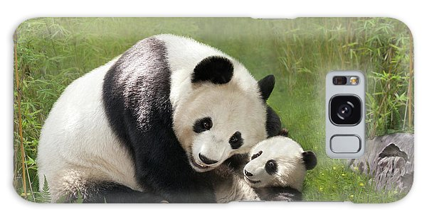 Panda Bears Galaxy Case