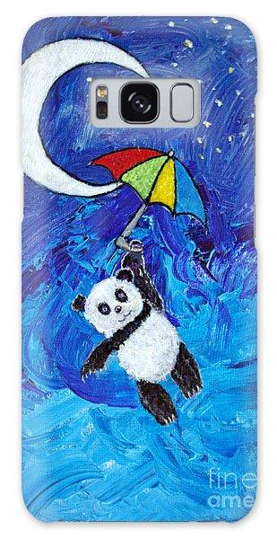 Panda Dreams Galaxy Case by Ella Kaye Dickey