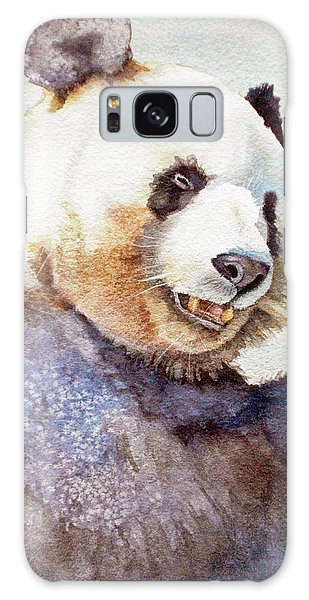 Panda Eating Galaxy Case