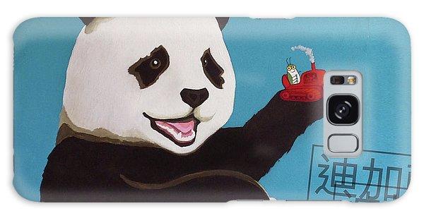 Galaxy Case - Panda Joy by Kato D