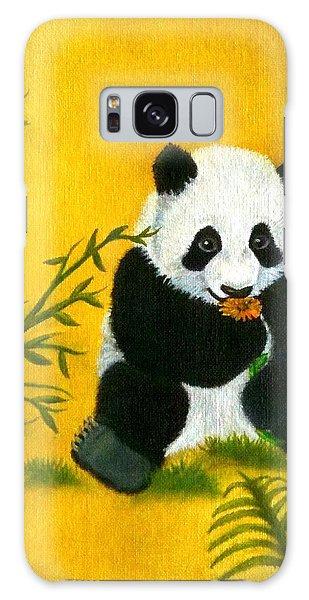 Panda Power Galaxy Case