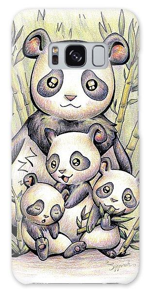 Endangered Animal Giant Panda Galaxy Case