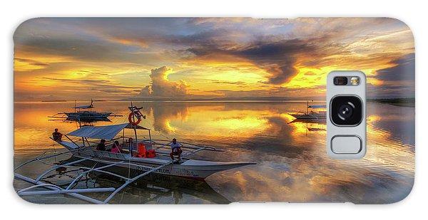 Panglao Port Sunset 10.0 Galaxy Case by Yhun Suarez