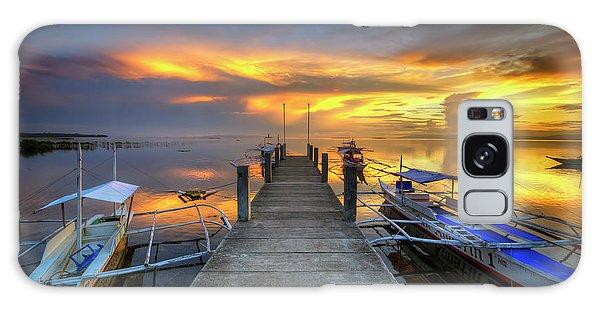 Panglao Port Sunset 8.0 Galaxy Case by Yhun Suarez
