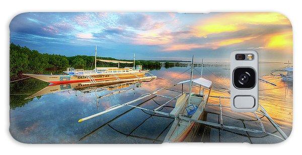 Panglao Port Sunset 9.0 Galaxy Case by Yhun Suarez