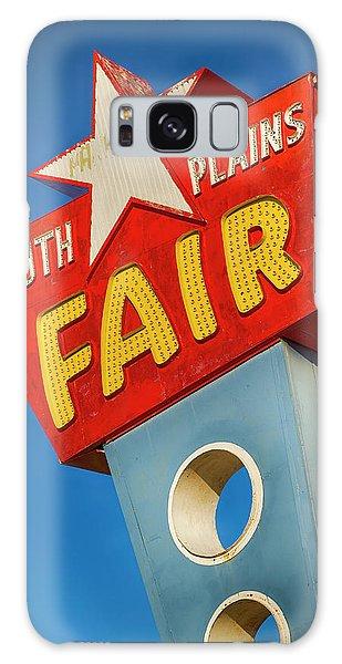 County Fair Galaxy Case - Panhandle South Plains Fair Sign by Stephen Stookey
