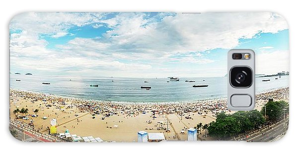 Panorama Of Copacabana, Rio De Janeiro, Brazil  Galaxy Case