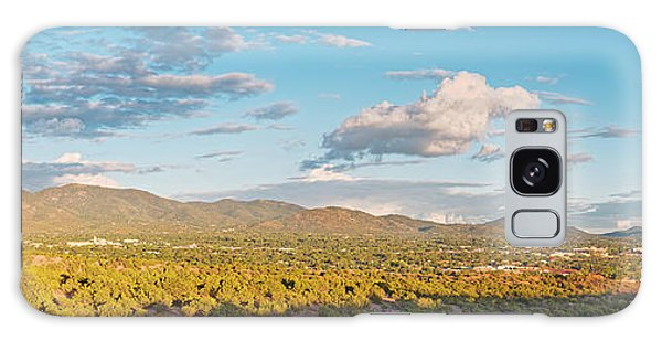 Sangre De Cristo Galaxy S8 Case - Panorama Of Santa Fe And Sangre De Cristo Mountains - New Mexico Land Of Enchantment by Silvio Ligutti