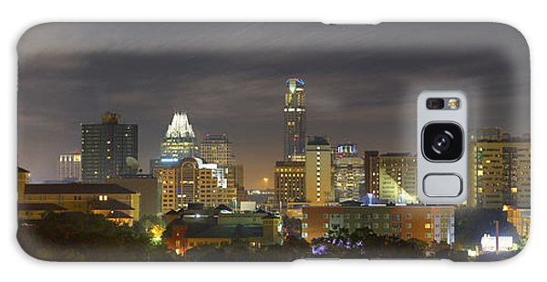Panorama Of The Austin Skyline On A September Morning Galaxy Case