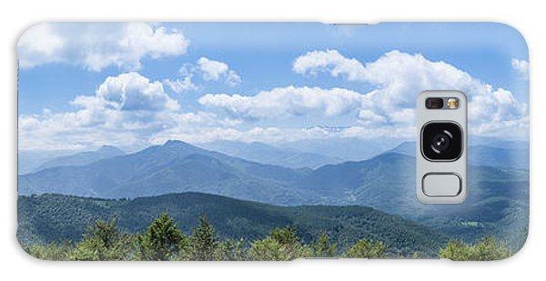 Panorama Of The Foothills Of The Pyrenees In Biert Galaxy Case by Semmick Photo