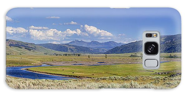 Panorama Of The Lamar Valley Galaxy Case