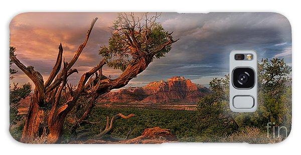 Panorama Storm Back Of Zion Near Hurricane Utah Galaxy Case