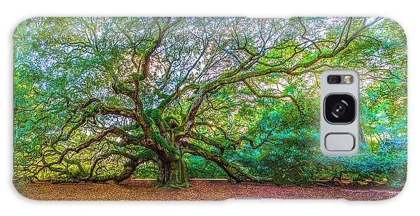 Panoramic Angel Oak Tree Charleston Sc Galaxy Case