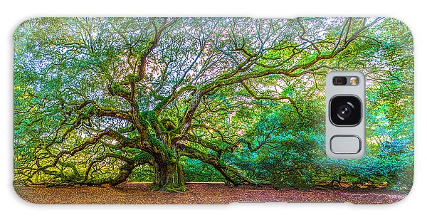 Panoramic Angel Oak Tree Charleston Sc Galaxy Case
