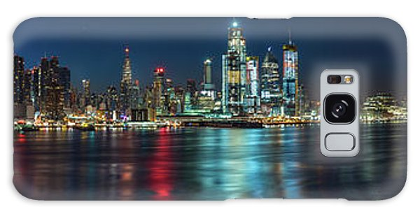 Panoramic Skyline-manhattan Galaxy Case