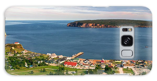 Galaxy Case featuring the photograph Panoramic View In Perce Quebec by Elena Elisseeva