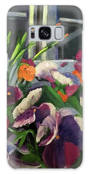 Pansy Frenzy Galaxy Case