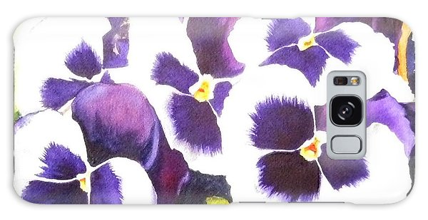 Pansy Party Galaxy Case
