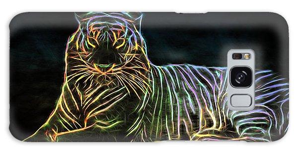 Panthera Tigris Galaxy Case by Aaron Berg