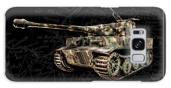 Panzer Tiger I Side Bk Bg Galaxy Case