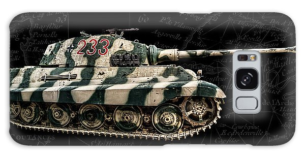 Panzer Tiger II Side Bk Bg Galaxy Case