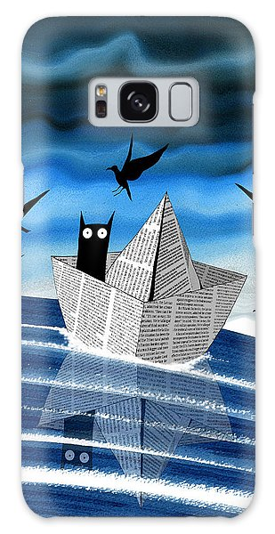 Fairy Galaxy Case - Paper Boat  by Andrew Hitchen