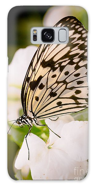 Paper Kite On White Galaxy Case