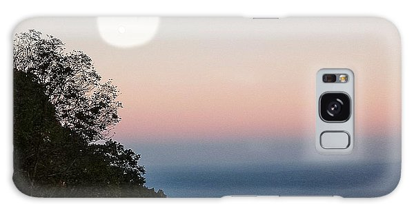 Paper Moon Over Blue Ridge Galaxy Case