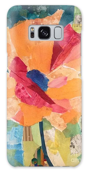 Paper Poppy Galaxy Case