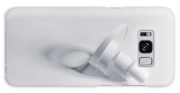 Bone Galaxy Case - Paper Spiral by Scott Norris