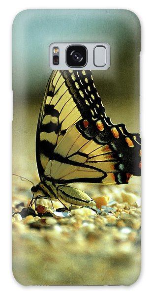 Papilio Glaucus Eastern Tiger Swallowtail Galaxy Case by Rebecca Sherman