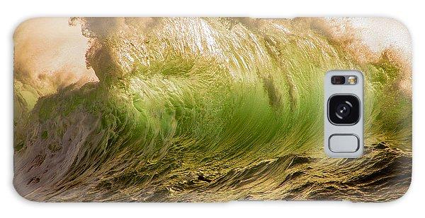 Papohaku Waves Galaxy Case