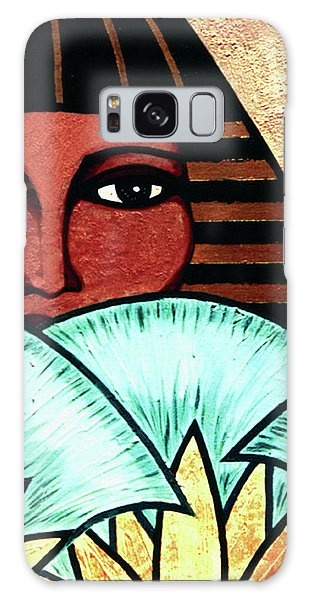 Papyrus Girl Galaxy Case