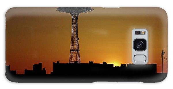 Parachute Jump Coney Island Galaxy Case