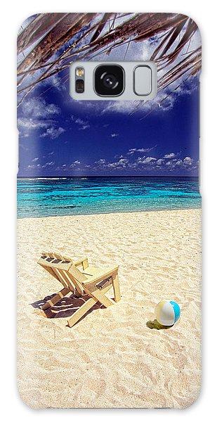 Paradise Beach Ball Galaxy Case