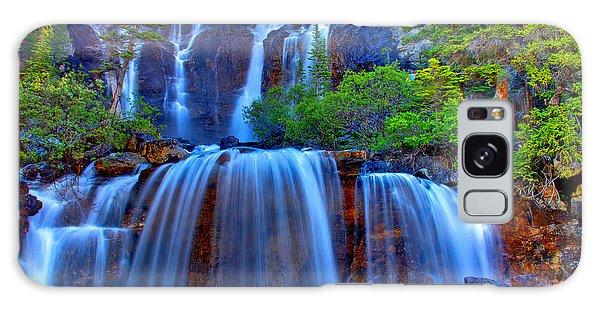Paradise Falls Galaxy Case by Scott Mahon