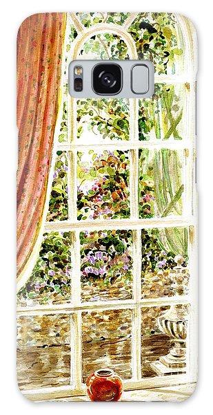 Paradise House In Bath England Galaxy Case by Dee Davis