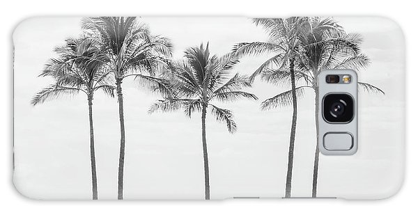 Paradise In Black And White II Galaxy Case