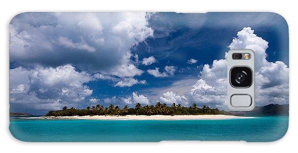 Paradise Is Sandy Cay Galaxy Case