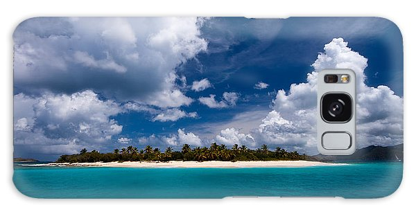 Paradise Is Sandy Cay Galaxy Case