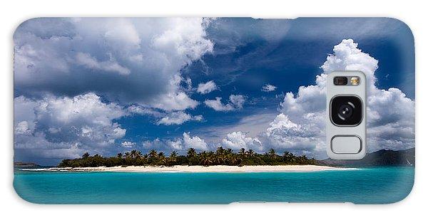 Paradise Is Sandy Cay Galaxy Case by Adam Romanowicz