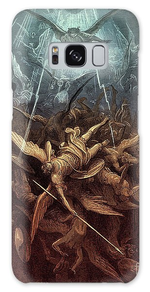 Chasm Galaxy Case - Paradise Lost,  Fall Of The Rebel Angels, by Gustave Dore