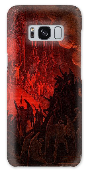 Tint Galaxy Case - Paradise Lost  Satan In Council by Gustave Dore