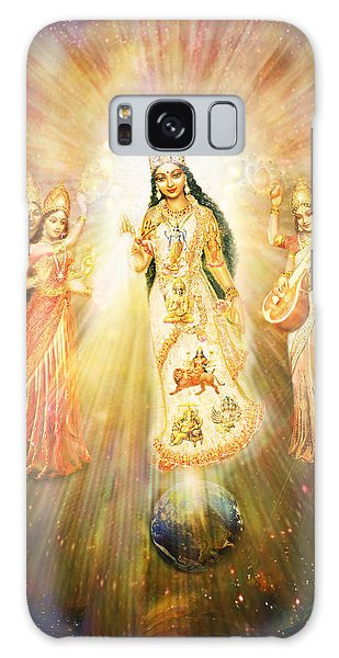 Parashakti Devi - The Great Goddess In Space Galaxy Case