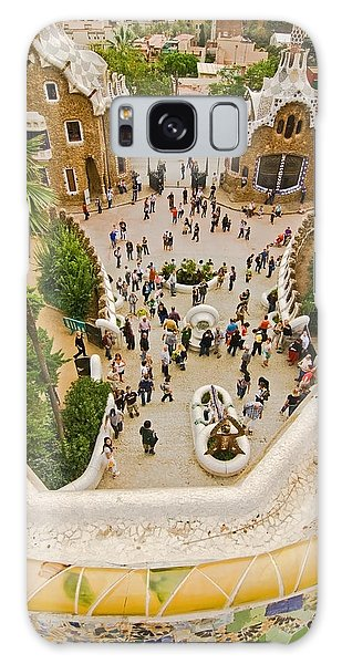 Parc Guell In Barcelona Galaxy Case
