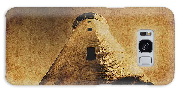 Navigation Galaxy Case - Parchment Paper Lighthouse by Jorgo Photography - Wall Art Gallery